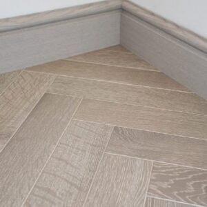 lignum herringbone slate grey