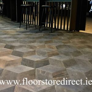 hexparket black oak