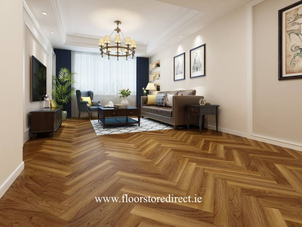 authentic herringbone superior walnut