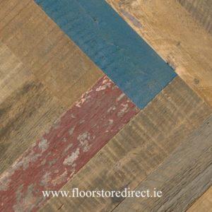 historic reclaimed herringbone charleston pine