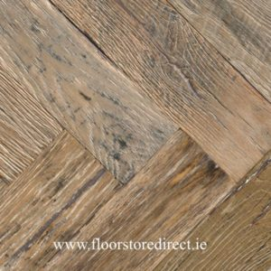 historic reclaimed herringbone boston oak