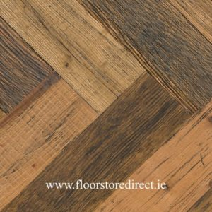 historic reclaimed herringbone madison oak