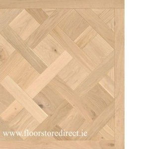 versailles herringbone brushed oak unfinished