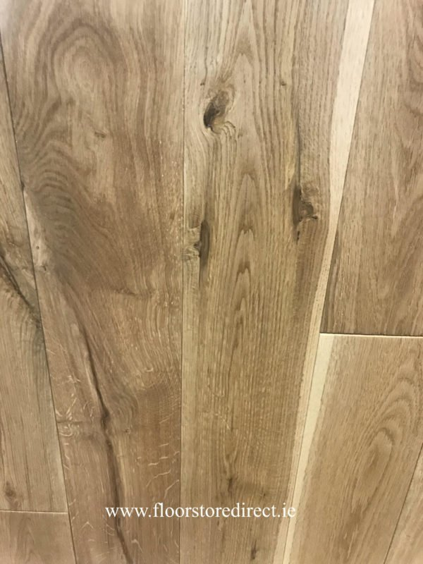 heritage brushed and lacquered oak