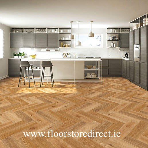 rockwood herringbone warm oak