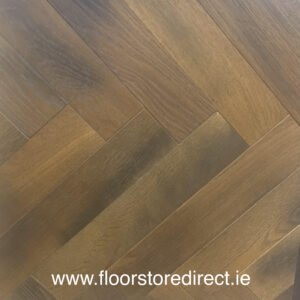 residence smoked brushed uv oiled herringbone