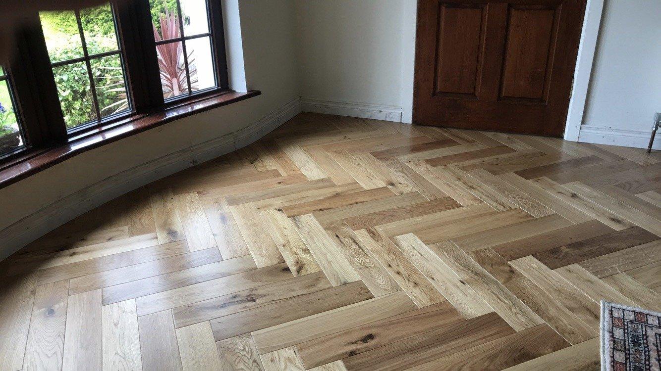 Design Herringbone Warm Oak