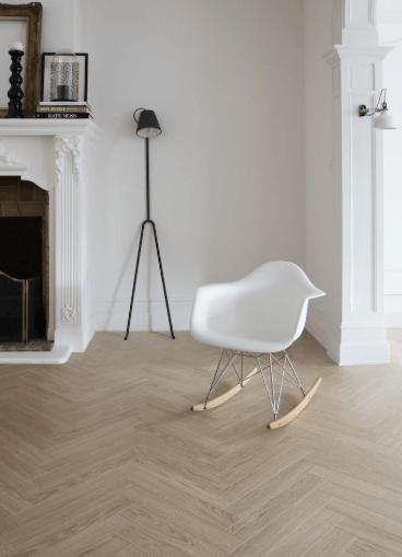Sensation Herringbone White Oak, White Herringbone Laminate Flooring