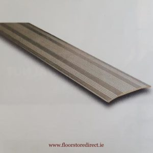 Coverstrip Self Adhesive SIlver