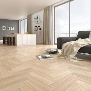 Darwin Oak Herringbone