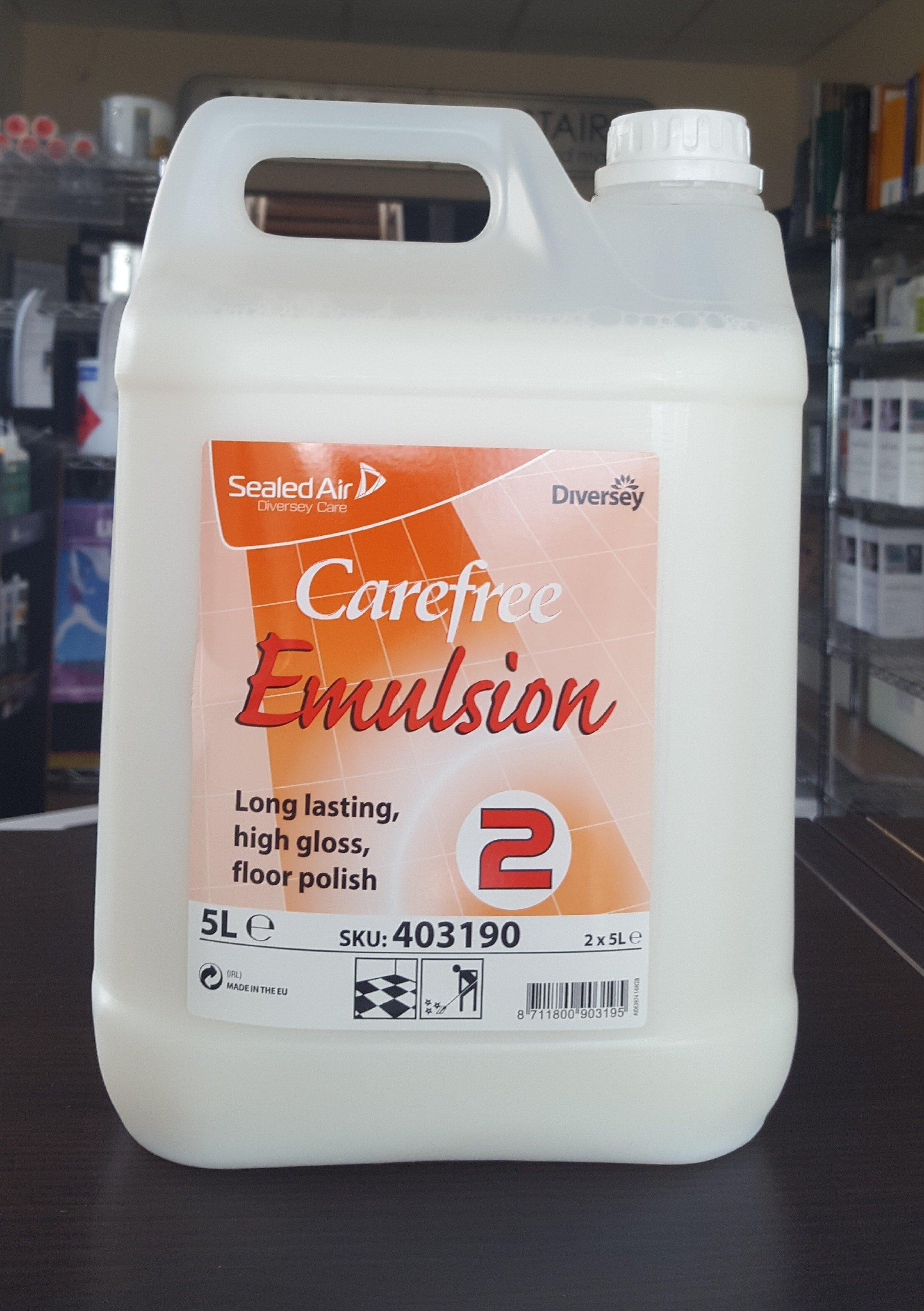 Diversey Carefree Emulsion