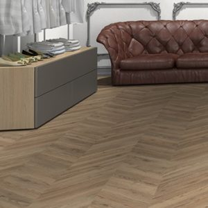 Mountain High 8 Parquet Dark Chevron