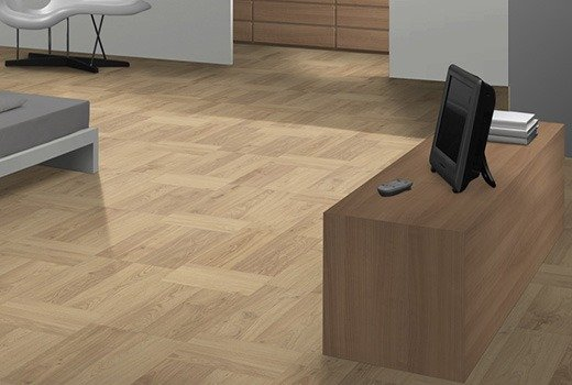 Mountain High 8 Parquet Natural Woodblock