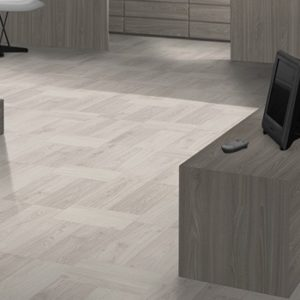 Mountain High 8 Parquet White Woodblock