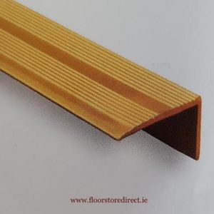 8mm Angle Edge Self Adhesive Brass