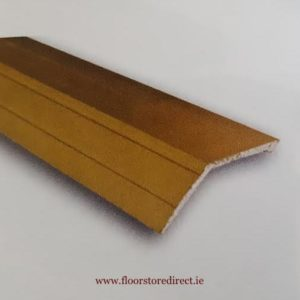 8mm Ramp edge self adhesive Brass