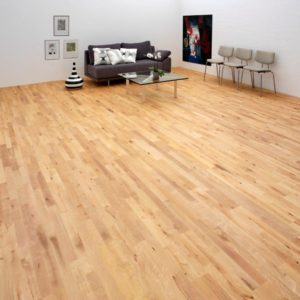 Junckers Beech 2 Strip Parquet Silk Matt Lacquered Variation 22mm/129mm