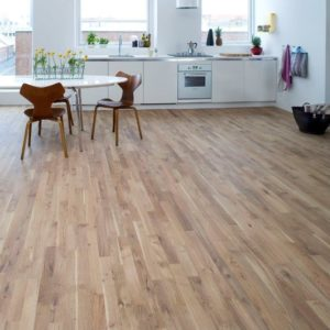 Junckers Nordic Oak 2 Stip Harmony 14mm/129mm Ultra Matt Lacquer