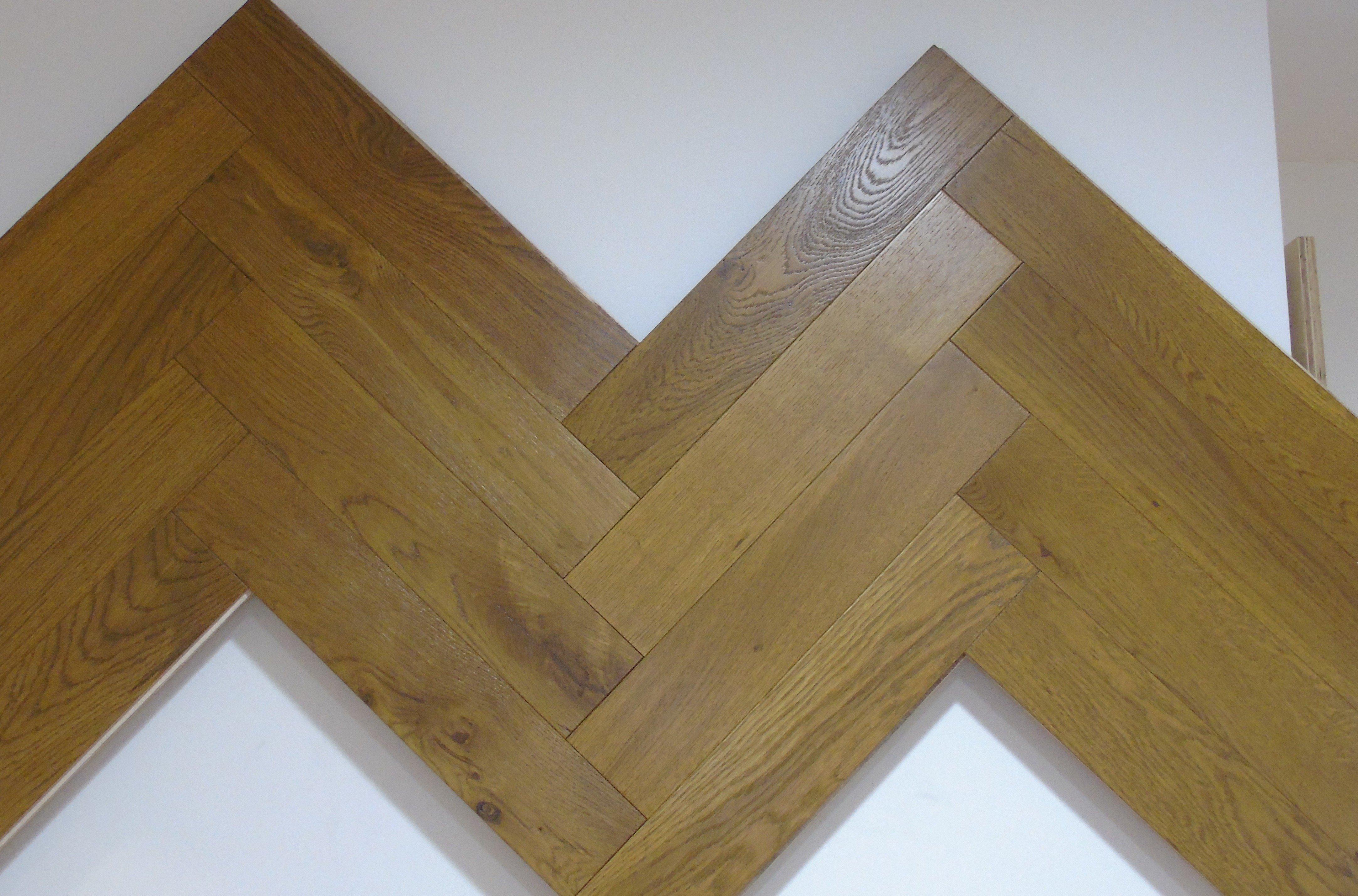 Design Herringbone Cappuccino Smoked Oak
