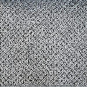 New Rocca Carpet Silver 4m Small Room