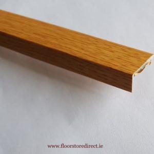 8mm Angle Edge Self Adhesive Oak