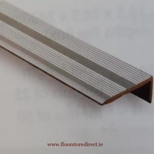 8mm Angle Edge Self Adhesive Silver