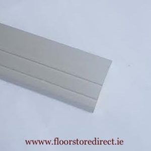 15mm Ramp Edge Self Adhesive Chrome