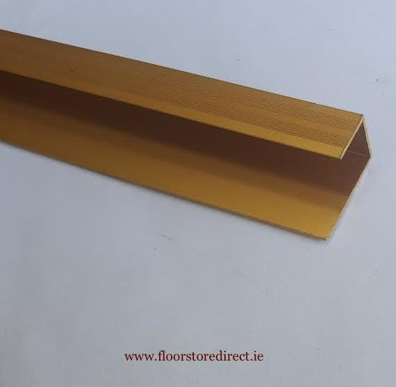 8mm square edge Brass