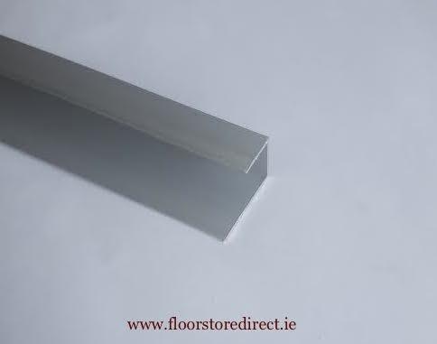 10mm Square Edge Silver