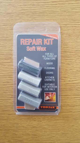 Trojan Repair Kit Soft Wax Grey Wood Shades