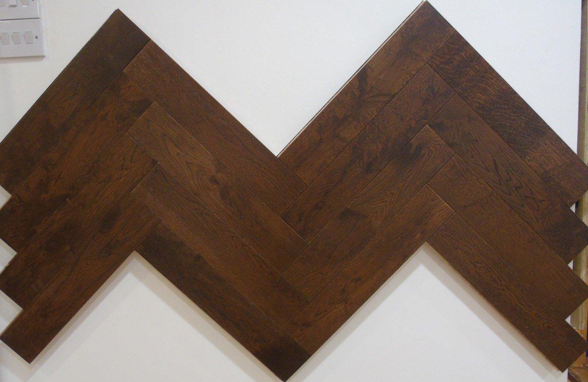 Design Herringbone Java Oak
