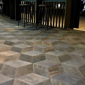 Junckers Hexparket Black Oak