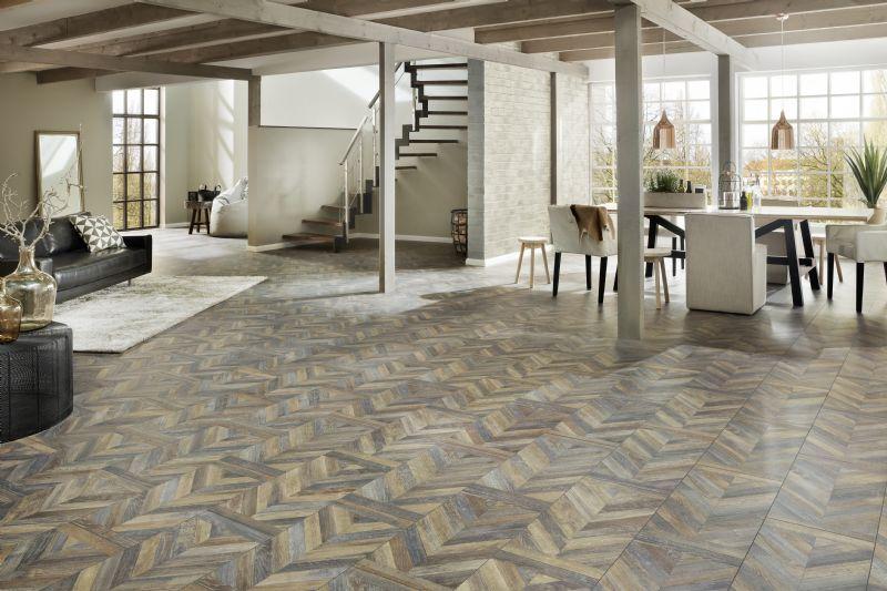 Extravagant Tile Rustic Woodblock