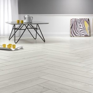 Solid Plus Herringbone AC6 12mm Nordic Oak