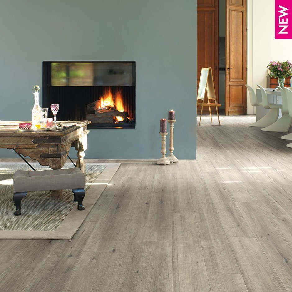 Quick Step Impressive Ultra 12mm Saw Cut Oak Beige