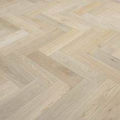 Design Herringbone Unfinished Oak
