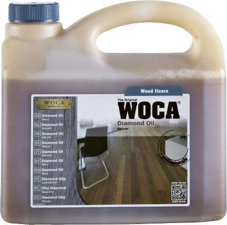 WOCA Diamond Oil 2.5 Litre Natural